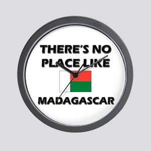 There Is No Place Like Madagascar Wall Clock