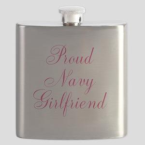Proud Navy Girlfriend Flask