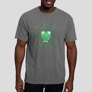 I wear Green Mens Comfort Colors Shirt