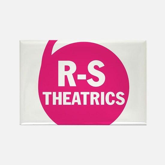 R-S Theatrics Pink Rectangle Magnet