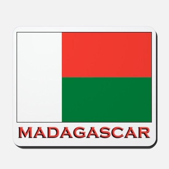 Madagascar Flag Merchandise Mousepad