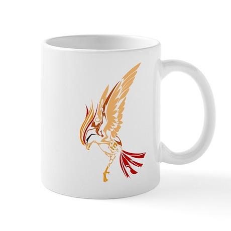 Tribal style bird Mug