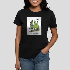 get-outdoors Women's Dark T-Shirt