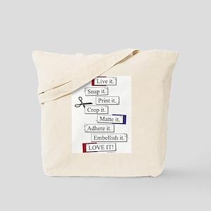scrap-it-front Tote Bag