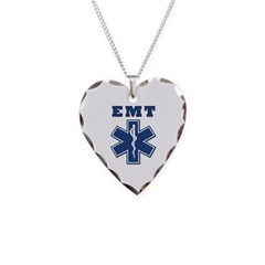 EMT Blue Star Of Life* Necklace