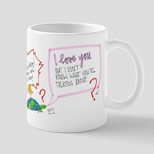 Miscommunication Mug