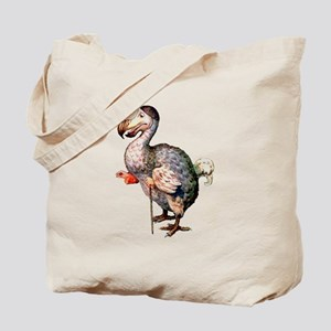 Alice's Dodo Bird in Wonderland Tote Bag