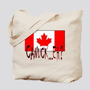 CANUCK EH? Tote Bag