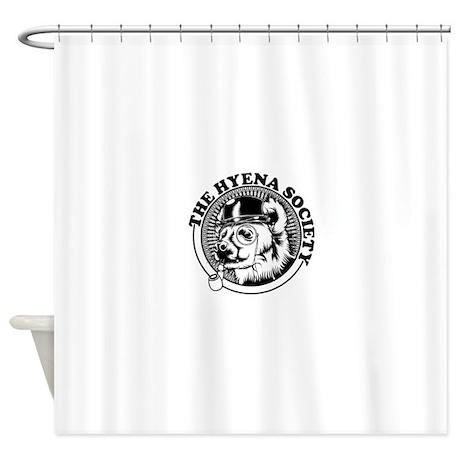 Hyena Society Logo Shower Curtain