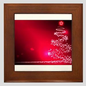 Merry Cosmos Framed Tile