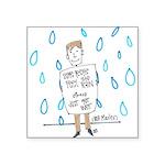 Positivity Square Sticker 3