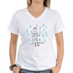 Positivity Women's V-Neck T-Shirt