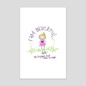 Thanksgiving Mini Poster Print