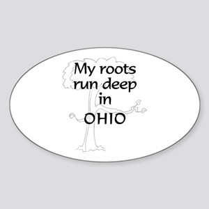 Ohio Roots Oval Sticker