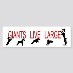 giant stands Bumper Sticker