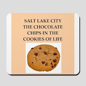 salt lake city Mousepad