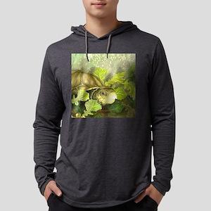 FrancesBoxieTurtleOrnament Mens Hooded Shirt