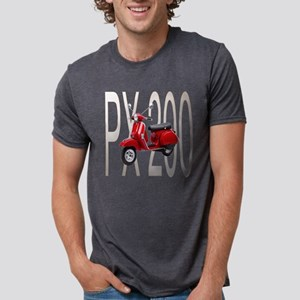 Red-PX 200 Mens Tri-blend T-Shirt