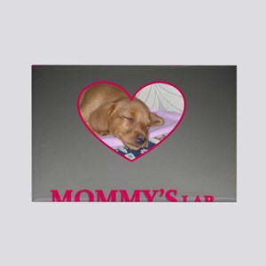 MOMMY'S LAB 2 Rectangle Magnet