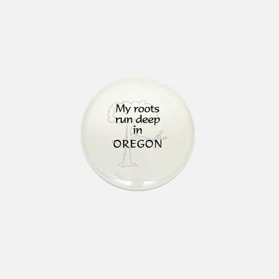 Oregon Roots Mini Button
