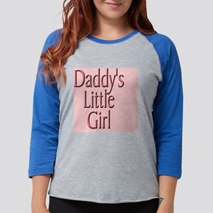 daddy's little girl-105x105.pn Womens Baseball Tee