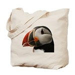 Puffin Portrait Tote Bag