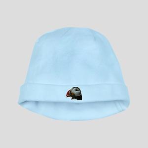 Puffin Portrait baby hat