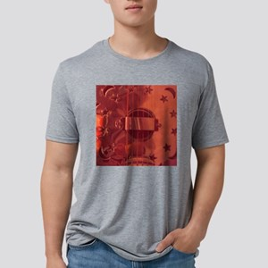 Mteal Angel Mens Tri-blend T-Shirt