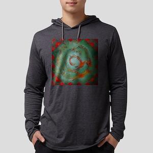Azteca Mens Hooded Shirt