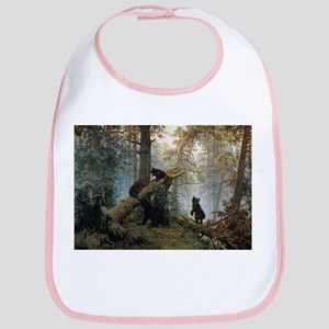 Ivan Shishkin Morning In A Pine Forest Bib