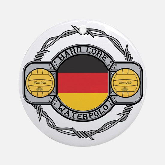 Germany Water Polo Ornament (Round)