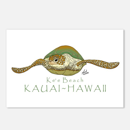 Sea Turtle Postcards (Package of 8)