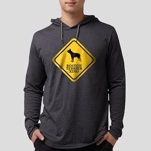 15-Boston-Terrier Mens Hooded Shirt