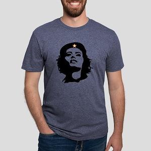 REVOLUTIONARY WOMAN Mens V- Mens Tri-blend T-Shirt