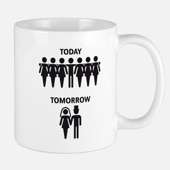 Today - Tomorrow (Stag Night / Stag Party) Mug