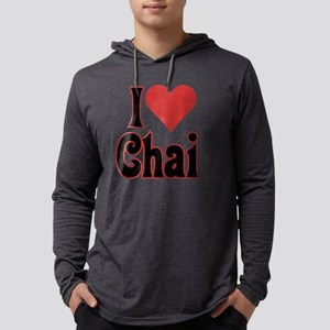 love chai nocup 10c Mens Hooded Shirt