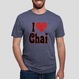 love chai nocup 10c Mens Tri-blend T-Shirt