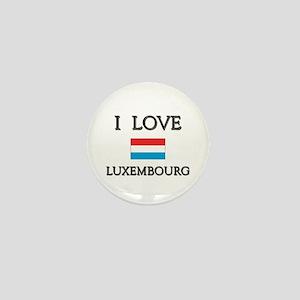 I Love Luxembourg Mini Button