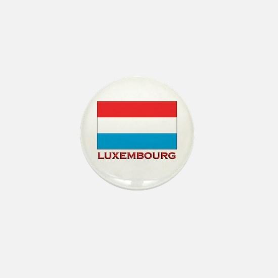 Luxembourg Flag Merchandise Mini Button