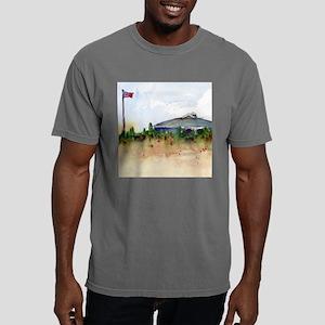 Cape Cod Beach Bathroom Mens Comfort Colors Shirt
