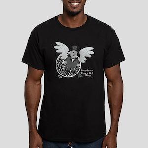 Wonderful iIfe Men's Fitted T-Shirt (dark)