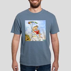 Cape Cod Lifeguard Bathr Mens Comfort Colors Shirt