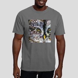 Owl Eyes Bathroom Mens Comfort Colors Shirt