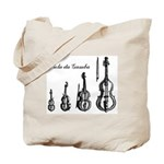 Viola da Gamba Gig Bag for Accessories