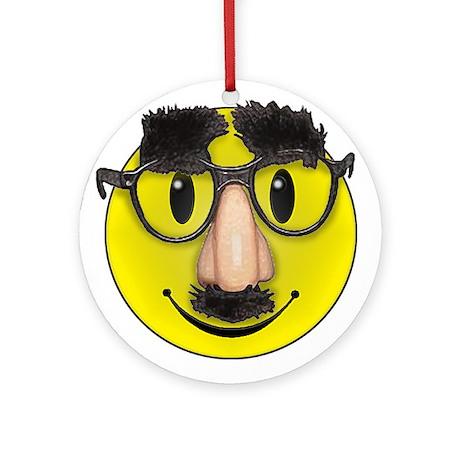 LOL Smilie Ornament (Round)