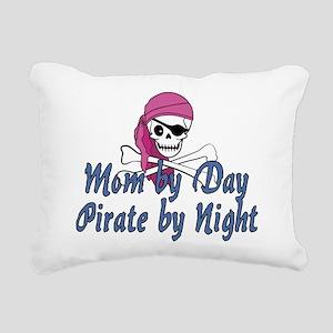 Mom Pirate Rectangular Canvas Pillow