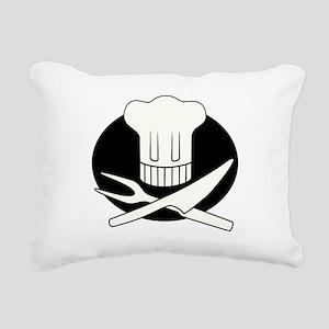 Pirate Chef Rectangular Canvas Pillow