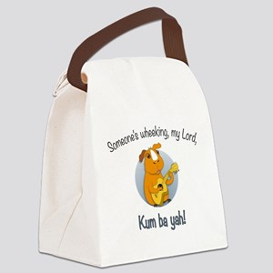 Kumbaya Guinea Pig Canvas Lunch Bag