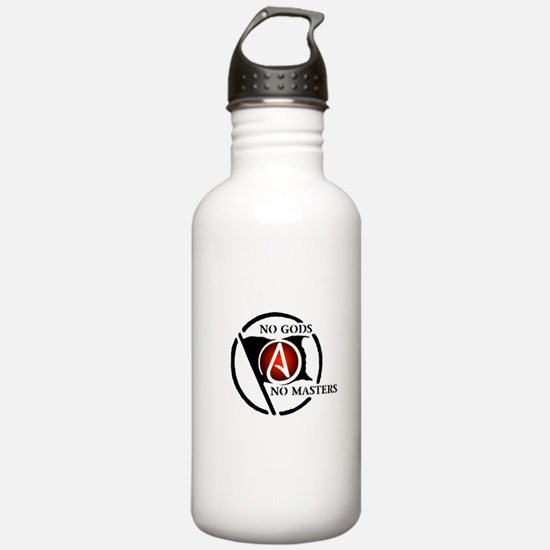 No Gods No Masters Sports Water Bottle