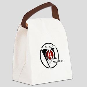 No Gods No Masters Canvas Lunch Bag